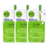 Combo of 10 Mediheal Teatree Healing Solution Essential Mask (25ml X10)