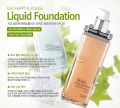 Kem nền Geo Sempre Happy & Please Liquid Foundation SPF20 #21 Natural Beige