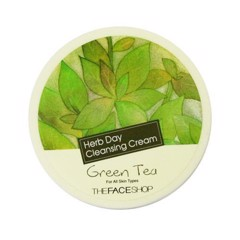 Kem Tẩy Trang The Face Shop Herb Day Cleansing Cream Green Tea 150ml