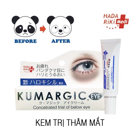Kem trị thâm quầng mắt Cream Kumargic Concetrated Trial Of Below Eye 20g