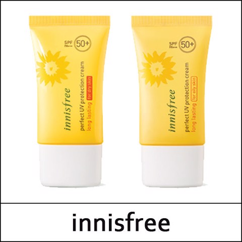 Kem Chống Nắng Cho Da Khô Innisfree Long Lasting Perfect UV Protection Cream SPF50+ PA +++ 50ml