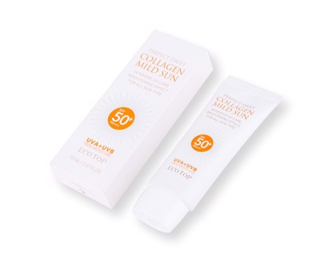 Collagen Ecotop Perfect Daily Collagen Mild Sun SPF50+ PA+++ 70ml