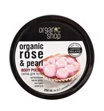 Organic Shop Organic Rose & Pearl Body Polish 250ml