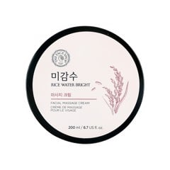 Kem Massage Làm Sáng Da Rice Water Bright Facial Massage Cream The Face Shop 200ml