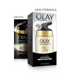 Olay Total Effects 7 In One Anti-Aging Moisturizer With Sunscreen Broad Spectrum SPF15 Fragrance-Free 50ml