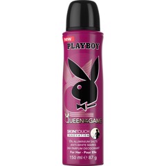 Xịt thơm toàn thân cho nữ Playboy 24h Parfum Deodorant for Her - Queen of the Game 150ml
