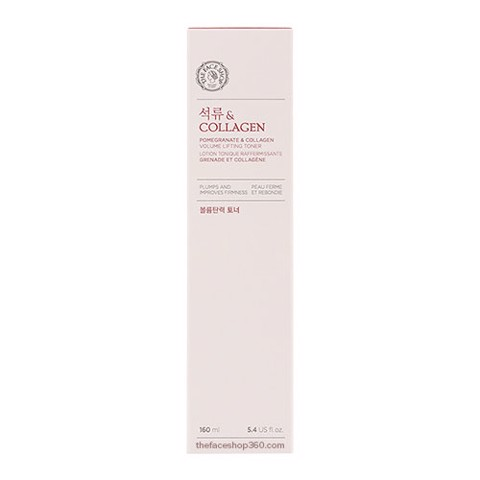 Nước Hoa Hồng Dưỡng Trắng The Face Shop Pomegranate And Collagen Volume Lifting Toner 160ml