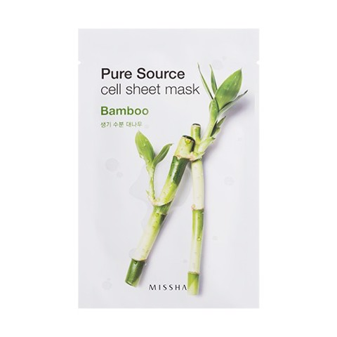 MISSHA Pure Source Cell Sheet Mask (Bamboo)