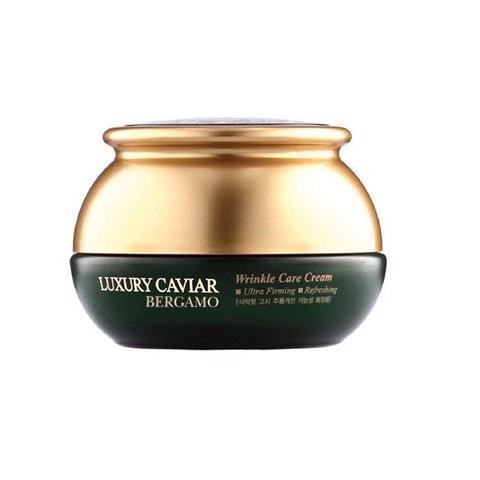 Kem Trị Nám Bergamo Luxury Caviar Wrinkle Care Cream 50g