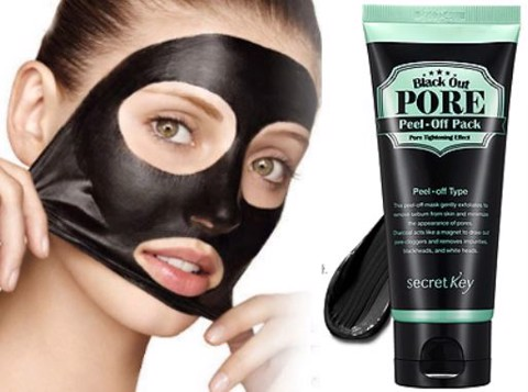Secret Key Black Out Pore Peel-Off Pack 100ml