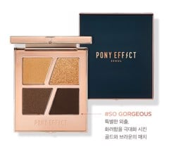 Pony Effect Conceptual Eyes Quad #So Gorgeous