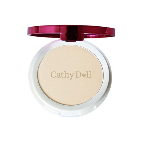 Cathy Doll Speed White CC Powder Pact SPF40 PA+++ #21 Light Beige