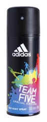 Adidas Deo Body Spray 24H Fresh Power For Men 150ml #Team Five