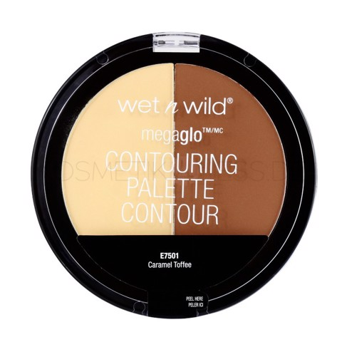 Phấn Tạo Khối Wet n Wild Megaglo Contouring Palette 750A Caramel Toffee 12.5g