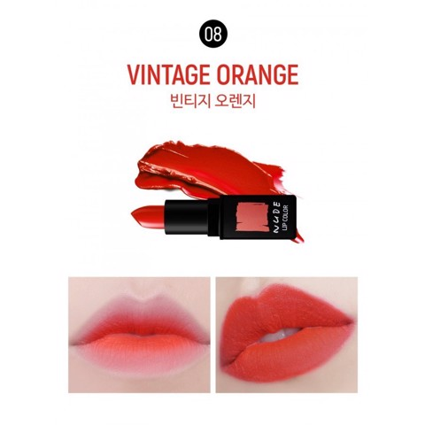 Son Thỏi Lì MUCHMORE NUDE LIP COLOR 3.5g