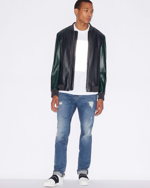 Quần Jean Nam Tapered - Fit Armani Exchange 0070