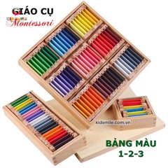 Bảng màu 1,2,3 ( First, Second, Third Box Of Color )