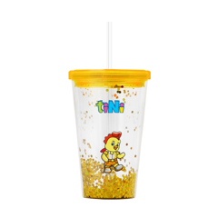 Ly tumbler tiNi 450ml - Vàng