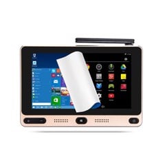 Mini PC máy tính bảng windows 10 /Android Gole One  5inch (Chip X5, Ram 4G, SSD 64G, RJ45, 5 USB)