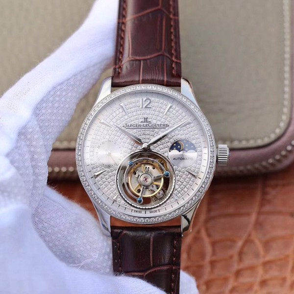 Đồng hồ cơ Jaeger-LeCoultre Master Complication Functions mặt trắng