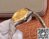 Đồng hồ cơ Omega Constellation Men 123.20.38.21.08.001 Two Tone Golden Dial