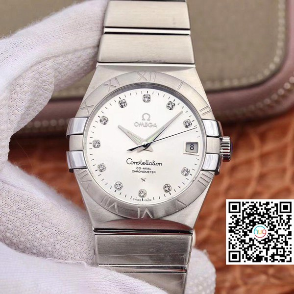 Đồng hồ cơ Omega Constellation Co-Axial Automatic Men 38mm 123.10.38.21.52.001