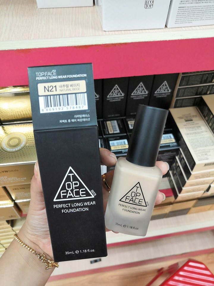 Kem Nền TOP FACE Perfect Long Wear Foundation 35ml