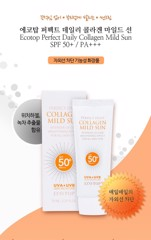 KEM CHỐNG NẮNG COLLAGEN ECOTOP PERFECT COLLAGEN MILD LINE SPF50+/PA+++70ML