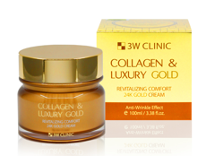 Kem Collagen & Luxury Gold Revitalizing Comfort 24k Gold Cream