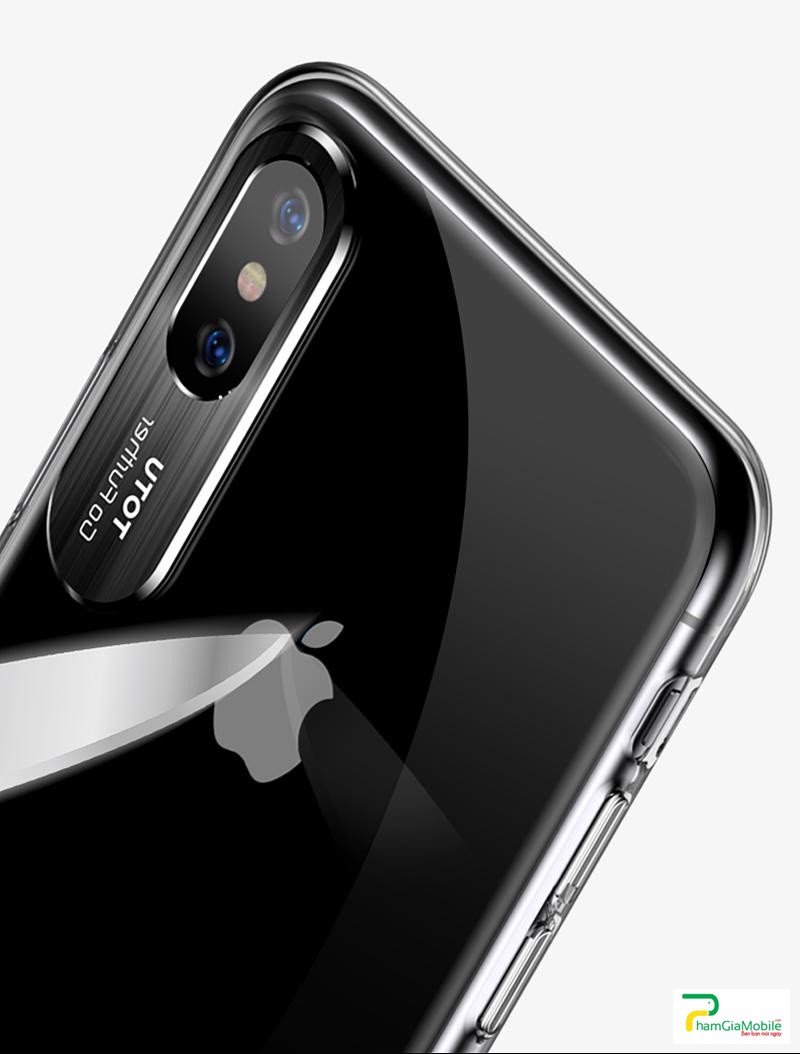 Ốp lưng trong suốt cao ToTu cao cấp Iphone X,XS