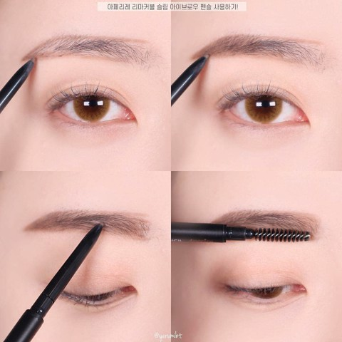 Chì kẻ mày Aperire Remarkable Slim Brow Pencil 2
