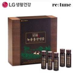 Cao Hồng Sâm Lộc Nhung Cao Cấp Re:tune Gold Vision Velvet Antler Red Ginseng Ampoule