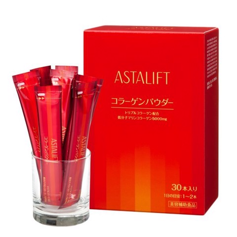 Collagen dạng bột Astalift Collagen Powder Nguyên chất 100% Collagen