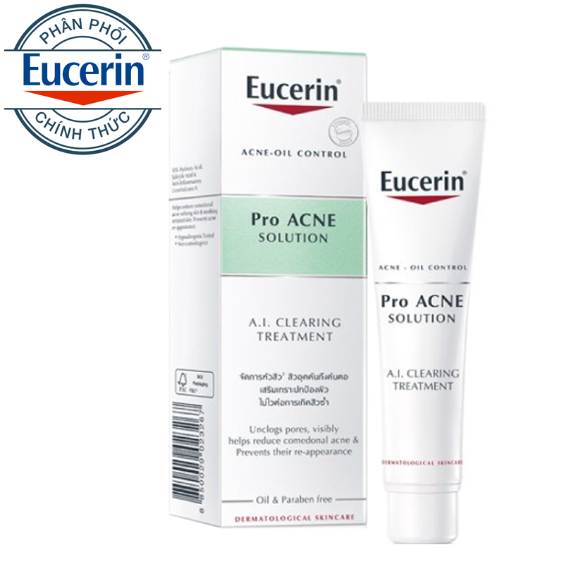 Tinh Chất Trị Mụn Eucerin Pro ACNE Solution A.I. Clearing Treatment 40ml