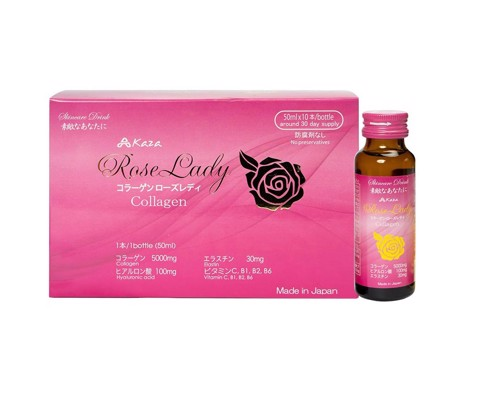 Nước uống Collagen Kaza Rose Lady 5000mg