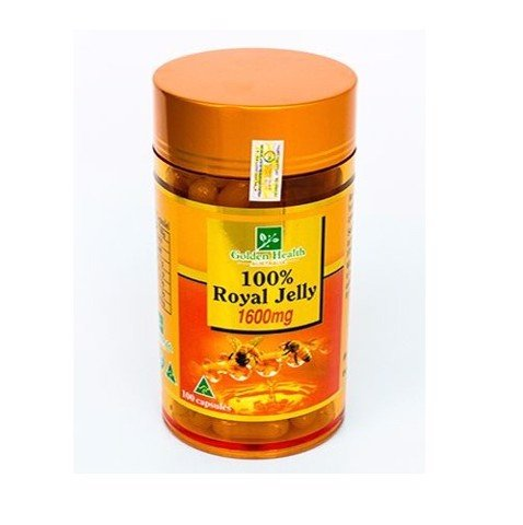 TPCN Sữa ong chúa Golden Health Royal Jelly 1600mg (100 viên)