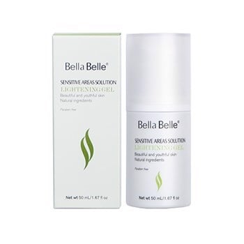 Gel làm hồng nhũ hoa Sensitive Areas Solution Lightening Gel Bella Belle 50ml