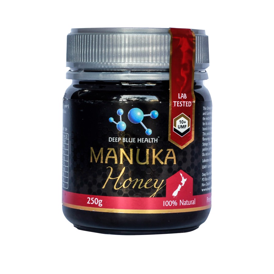 Mật ong manuka Honey UMF 10+ Deep Blue Health (250gr)