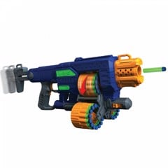 Adventure Force Savage Spin Motorized Triple Drum Blaster