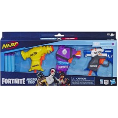 NERF Fortnite 3 Dart-Firing Micro Trio