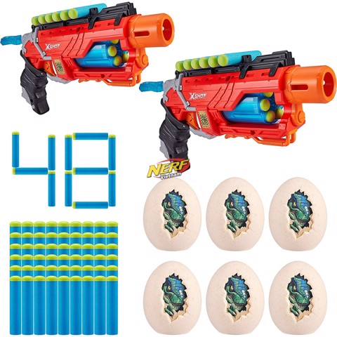 X-Shot Dino Attack Dino Striker Double Blaster