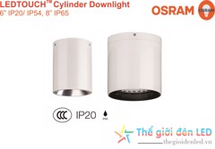 LEDTOUCH CYLINDER DOWNLIGHT 8 INCH