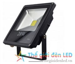 Đèn LED pha chip COB 20W IP66