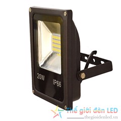 Đèn LED pha chip SMD IP66 20W PL-SMD-20W
