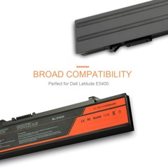 Pin Laptop Dell E5400/E5410/E5500/E5510 6 Cells/5200mAh
