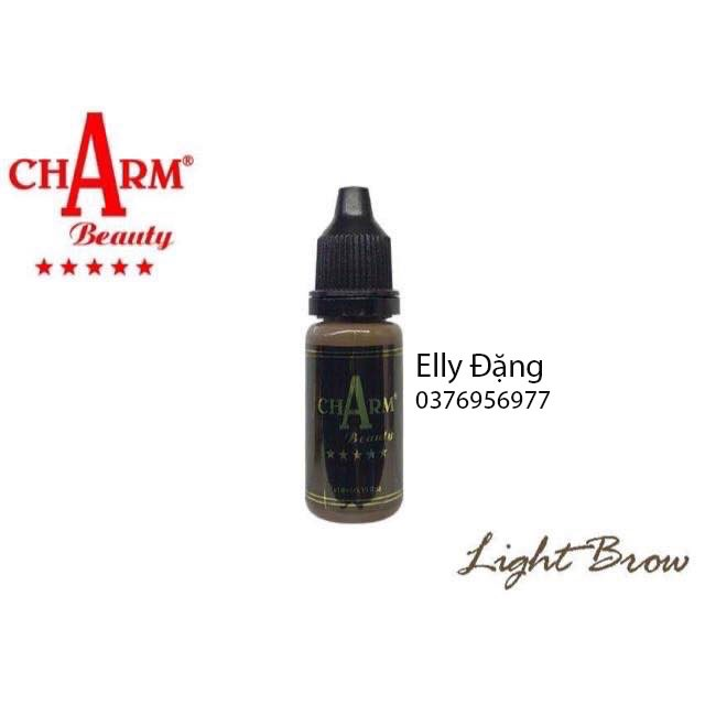 Mực Phun Xăm ChArm Light Brown