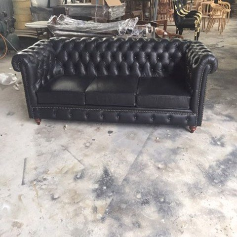 SOFA CHESTERFIELD-SOFA 3 CHỖ