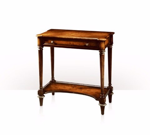 5005-107 Table - Bàn A poplar burl console table