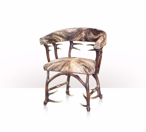 4202-029 Chair - A faux antler occasional chair
