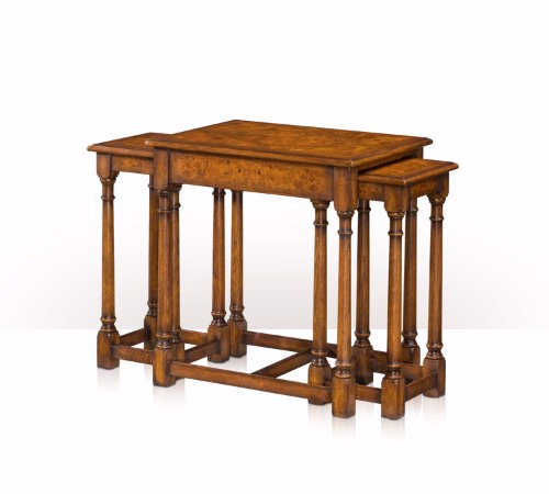 5005-171 Table - Bàn An oak and poplar burl nest of three tables
